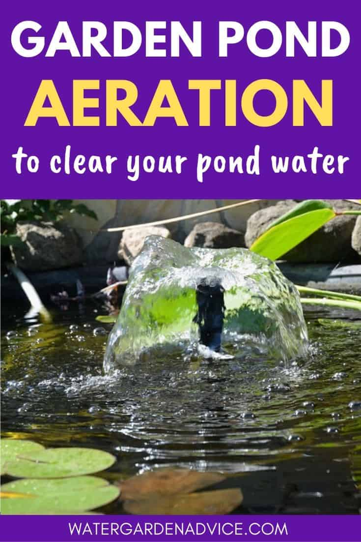 garden pond aeration