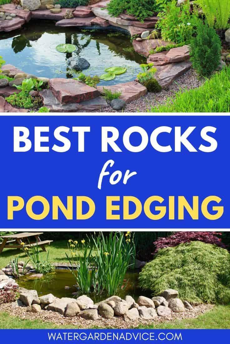 rocks for pond edging