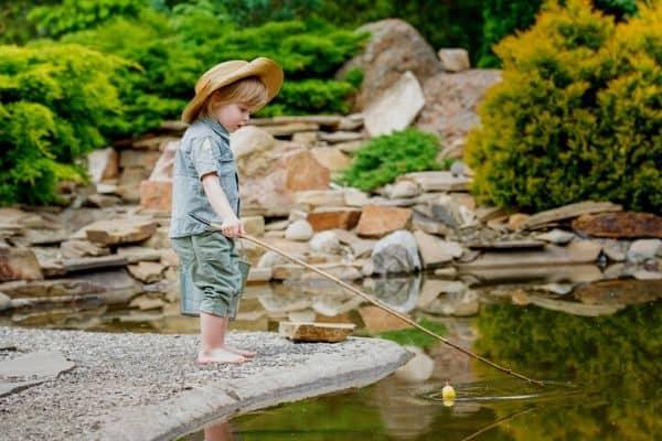 Pond safety for kids