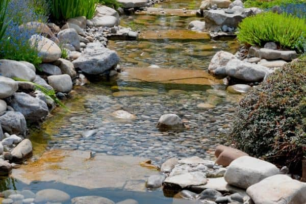 How To Build A Backyard Stream